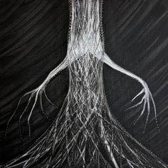 "Saatchi Art Artist Maria Marachowska; Painting, ""TREE"" #art"