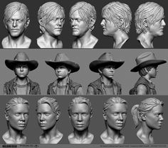ArtStation - McFarlane's Walking Dead, Rafael Grassetti