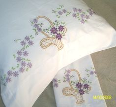 IDEAS FOR HEIRLOOM EMBROIDERED PILLOW CASES - Google Search