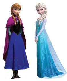 DIY Halloween Costume: Frozen's Elsa and Anna - Frozen Halloween costume Anna and Elsa - Anna E Elsa, Frozen Elsa And Anna, Frozen Princess, Frozen Disney, Anna Disney, Frozen Halloween Costumes, Halloween Diy, Frozen Birthday Party, Frozen Party