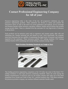 Contact Professional Engineering Company for All of your