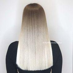 Seamless Blonde Ombré