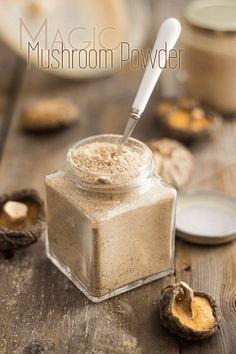 Mushroom Powder Magic Mushroom Powder - umami in a jar!Magic Mushroom Powder - umami in a jar! Homemade Spices, Homemade Seasonings, Dehydrator Recipes, Food Processor Recipes, Whole Food Recipes, Cooking Recipes, Smoker Recipes, Rib Recipes, Cooking Tips