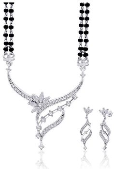 #White American #Diamond Studded #Mangalsutra @ $75.56