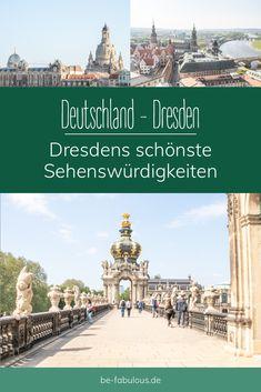 Dresden sticht nicht nur durch die idyllische Lage an der Elbe heraus, sondern auch durch eine beeindruckende Altstadt mit vielen erhaltenen Bauwerken aus früheren Zeiten. Ich stelle euch hier die schönsten Sehenswürdikeiten in Dresdens Altstadt vor! #dresden #deutschland #reisen #städtereise Tricks, German, Wanderlust, Explore, Group, World, Travel, Deutsch, Viajes