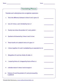 Express the interesting word problems in two step equations and ...