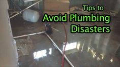 Easy Tips to Avoid Plumbing Disasters Regularly clean your toilet. Invest in a good plunger and learn how to use it.  Never use chemical drain cleaner.  Use cold water with your garbage disposal. Prep your pipes for winter.  Keep an eye on your washing machine supply hose.  http://sicariplumbing.com/ #plumbingdisaster #plumber #sunlandtujunga #burbank