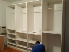 #installation Of #ikea #pax System #ifurnitureassembly Furniture Delivery  And Assembly Service In