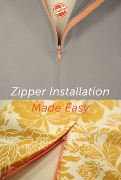 Free class! Achieve flawless zipper insertions every time. Get instant lifetime access to Sunni Standing's easy-to-follow techniques, and enjoy online video lessons you can watch anytime, anywhere.