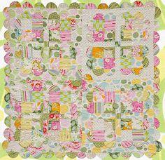 Sundae's Best quilt - free pattern from Scott Hansen  http://freespiritfabric.com/core-pages/patterns.php