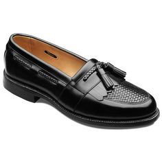 Cody - Moc-toe Tassel Slip-on Mens Dress Shoes by Allen Edmonds.  I would like to get a pair of these in black.