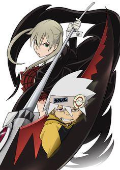 Soul+And+Maka | Image of Soul Eater Evans (Maka Albarn and Soul Eater Evans) - Anime ...