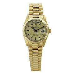 18k Yellow Gold Rolex 18038 Watch
