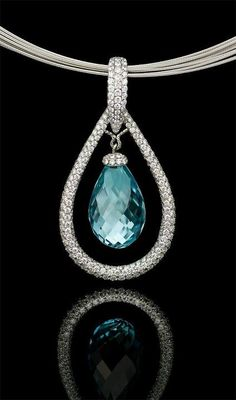 Aqua..Richard Krementz Gemstones