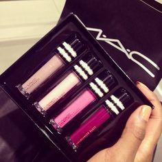 MAC lip gloss holiday set lt 3 Love My Makeup 930c7ed272860