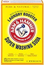 Super Washing Soda, Adds Extra Cleaning & Freshening Power For Tough Household Jobs 55 OZ, Arm & Hammer Works As A Laundry Detergent Booster & As A Household Cleaner Homemade Dishwasher Detergent, Laundry Detergent Recipe, Washing Detergent, Dishwasher Tablets, Dish Detergent, Household Cleaning Tips, Cleaning Recipes, Cleaning Hacks, Ugg Cleaning