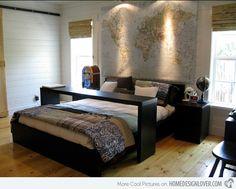I might need something similar on wheels.  Awesome bed table....thinking thinking