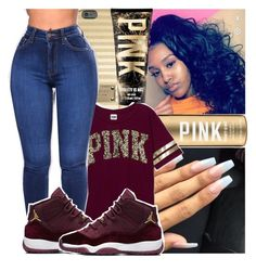 """""""PINK Contest✨"""" by theyknowniyaaa on Polyvore featuring MICHAEL Michael Kors and Victoria's Secret PINK"""