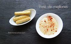Paté de mejillones - http://www.thermorecetas.com/2014/02/26/pate-de-mejillones/