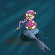 Grandma mermaid