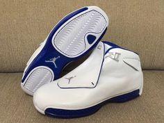 dbdbbbd802da Mamy dla Was pierwsze dokładne zdjęcia butów Air Jordan 18 w wersji Sport  Royal