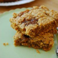 Over 160 Oatmeal Cookie Recipes - Crazy for Crust Oatmeal carmelitas