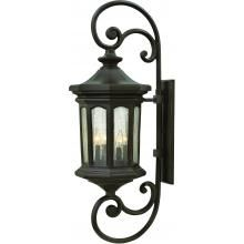 Hinkley Lighting Raley Four Light 42-Inch Outdoor Wall Light - Oil Rubbed Bronze - 1609OZ