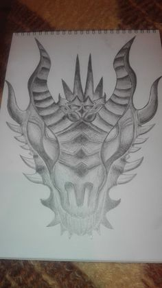 dragon head drawing Dragon Head Drawing, Moose Art, Drawings, Animals, Animales, Animaux, Sketches, Animal, Drawing