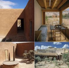 Georgia O'Keeffe's New Mexico Ghost Ranch house.