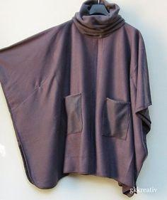 Aus einer Fleecedecke wird ein Poncho mit Schalkragen   Mich hat das Fleecedeckenfieber gepackt. Heute zeige   ich Euch einen gra...