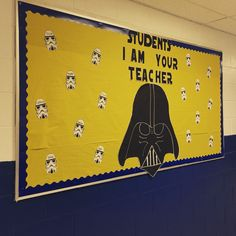 Star Wars bulletin board