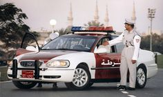 Holden Caprice Police Vehicle - Surprisingly the Saudi Arabian police force has a very modest car fleet. The Holden Caprice was the chosen vehicle to ensure safety on the arab streets. Unfortunately for the agents those exclusive and jaw dropping supercars are only for the crème de la crème of arab society, the oil bosses.