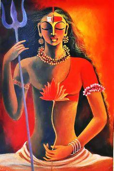 Shiva-Shakti union in Ardhanarishwar....hiriyein hamaar...