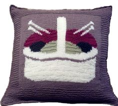 Ravelry: Project Gallery for Knitter's Basket Pillow Top pattern by Robin Denney