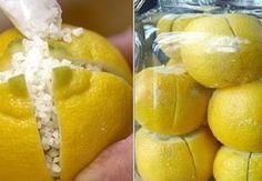 Citrony posypte solí a zavřete do sklenice