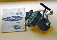 Vintage Garcia Mitchell 304 Fishing Reel by TattooingbyKevG