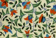 Surface pattern design, produced in Germany in 1939.