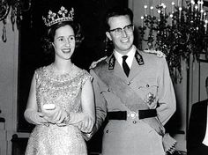 Fabiola is wearing my favourite of her tiaras. A gift from Generalissimo Francisco Franco on her marriage.