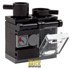 LEGO-Kitchen-Oven-AGA-Rayburn-Double-Oven-with-pans