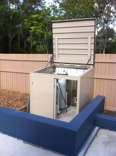 Genial The Box Thing   Pool Pump Enclosure