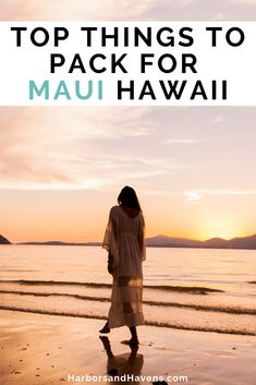 This Maui packing checklist will help you pack for your Hawaiian vacation. Before you load up the suitcase, save these Maui packing tips and handy Hawaii packing checklist. We've included what to wear for the beach, hikes, road trips and more! #mauitips #mauipacking #hawaiipacking | what to pack for Maui | what to pack for Hawaii | things to pack for Maui | things to pack for Hawaii | things to bring to Maui | Maui packing list | packing checklist Maui Hawaii | Hawaii vacation packing list Packing List For Vacation, Road Trip Packing, Packing For A Cruise, Packing Checklist, Hawaii Vacation, Packing Tips, Travel Packing, Travel Tips, Road Trips