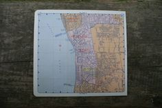 1958  Redondo Beach California Map  Old Map of by TheWoodenEarth