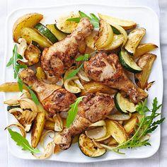 Recept - Aardappelparten en kaneelkip - Allerhande