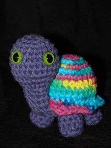 Turtle - Free Amigurumi Crochet Pattern