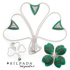 Shamrockin' Stunners | Add a pop of color with Silpada  jewelry! SilpadaStyle Women's Fashion   Www.mysilpada.com/kathleen.nicholsen