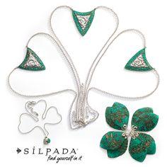 Shamrockin' Stunners | Add a pop of color with Silpada  jewelry! SilpadaStyle Women's Fashion   Www.mysilpada.com/kathleen.nicholsen