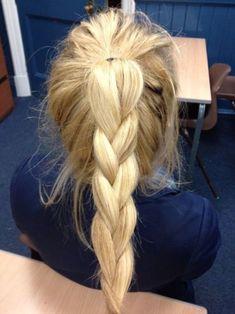 Pony + braid
