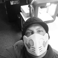 Something we liked from Instagram! Chilling at the studio slicing g-code.  That's such an overplay on what I'm actually doing. More like sitting at the shop generating a file to print overnight and being a dork. #3dprint #3dprinter #3dprinting #3dprinted #mortalkombat #scorpion #scorpionmask #cosplay #youmacon #youmacon2015 #micompucare #awesome by compuqb3d check us out: http://bit.ly/1KyLetq