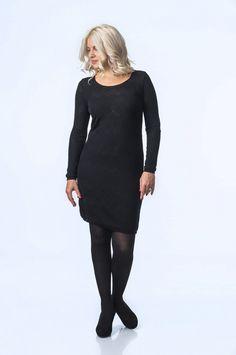 KAINO Knitted Northern Lights Dress Rain Poncho, Light Dress, Aw17, Knit Dress, Knitwear, Northern Lights, Wool, Long Sleeve, Sleeves