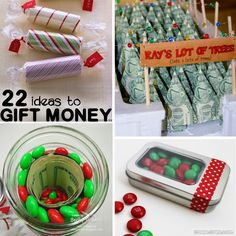 65 Ways to Give Money as a Gift - From   Gift Ideas   Pinterest ...